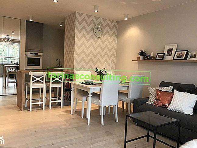 La maison en détail - voir la rénovation générale de l'appartement pour 100000 PLN