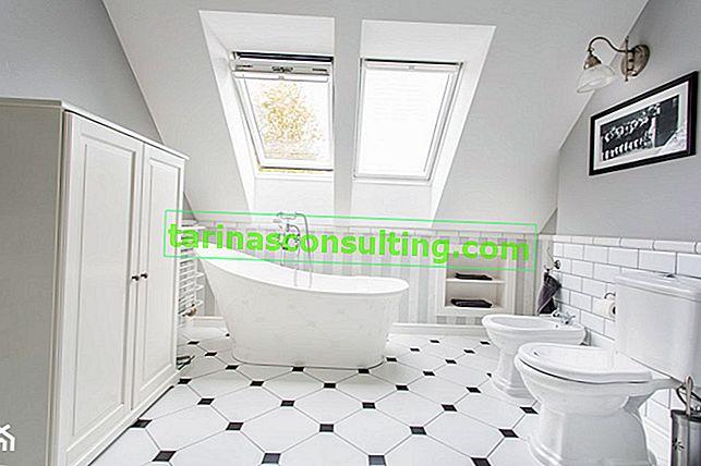 Come organizzare un bagno in soffitta? Consigli pratici e tante foto
