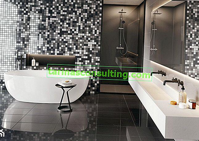 Come usare il mosaico in bagno? Guarda proposte alla moda e senza tempo
