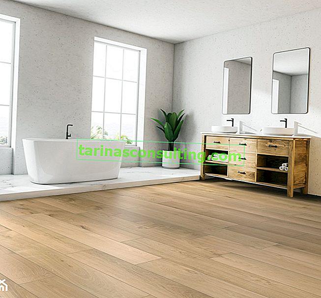 Pavimento del bagno: perché scegliere i pannelli in vinile?
