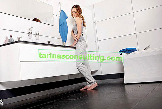 Pavimento caldo in bagno a disposizione di tutti