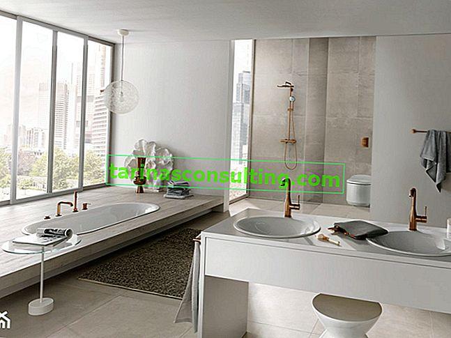2 modi per un bagno senza tempo: classico contro minimalismo
