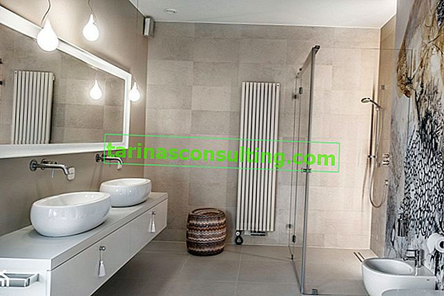 Radiatore da bagno come elemento di arredo del bagno