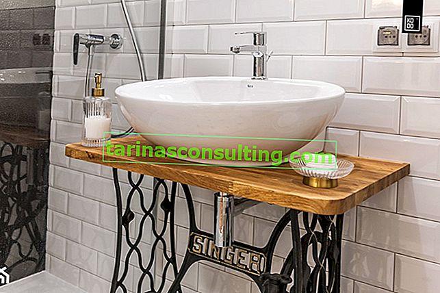 Piano di lavoro in legno per il bagno: opinioni, ispirazioni, consigli per la cura