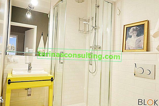 Quali piastrelle per un piccolo bagno? Modi per ingrandire otticamente il bagno