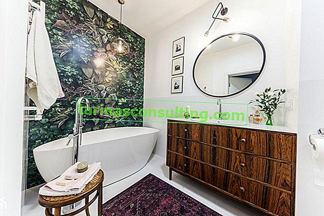 Come organizzare un bagno senza piastrelle?