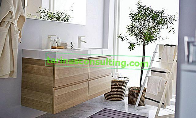 Come organizzare in modo intelligente un bagno? IKEA ispira!