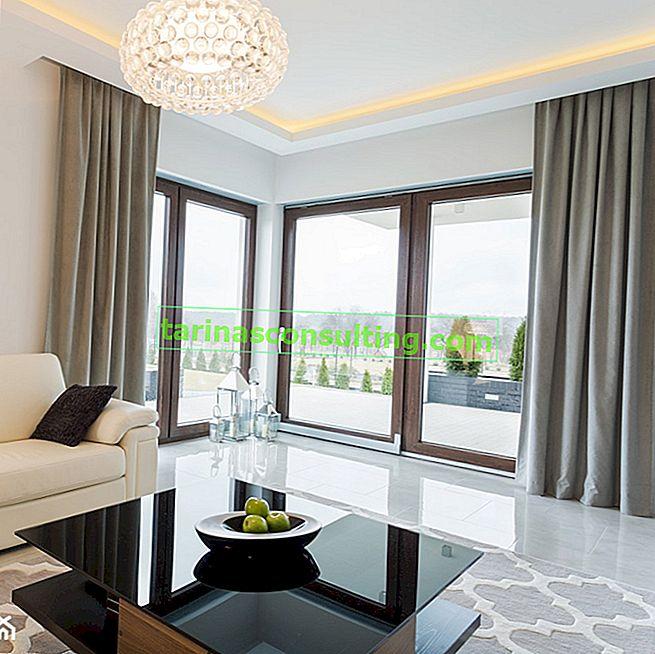 Finestre colorate - ideali per la facciata e l'interno della casa