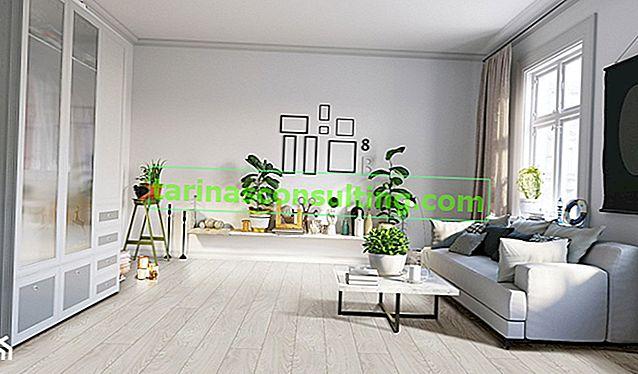 Un piano in tutto l'appartamento? Raggiungi i pannelli impermeabili