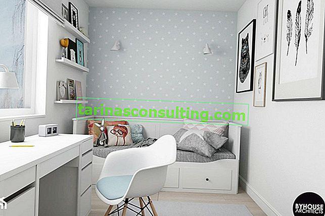Da bambina a adolescente: quanto costa rinnovare una stanza per bambini con un'area 9 m2?