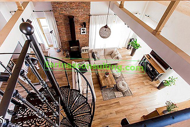 Vecchio mattone nel soggiorno: rosso, bianco o grigio? Che stile si adatta?