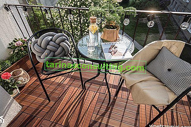 Tavolo da balcone: 18 idee per un tavolo da balcone