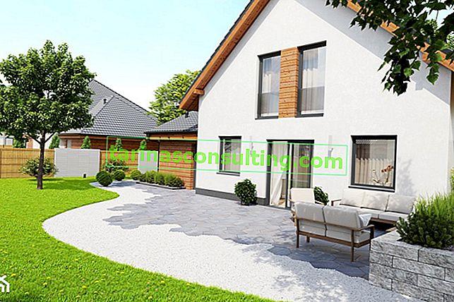 Come organizzare l'area intorno alla casa? Scegliamo il materiale per il terrazzo, vialetto, vialetti e recinzioni!