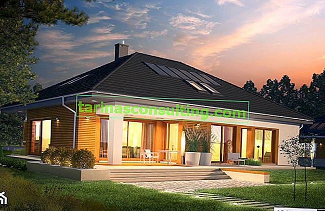Scegliamo una casa. Design della casa in vari stili fino a 150 m2