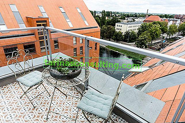 Piastrelle per balcone: cosa scegliere? Suggerimenti e foto