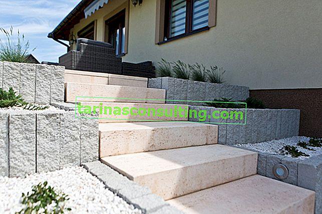Blocca gradini, un modo veloce per costruire scale esterne funzionali ed estetiche