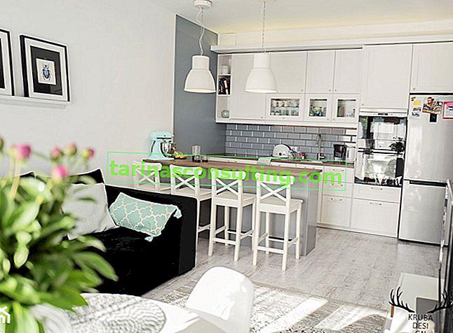 Quanto costa finire una cucina aperta su un soggiorno con una superficie totale di 30 mq?