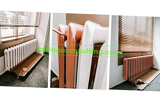 Barvanje radiatorja - katera radiatorska barva bo najbolje delovala?