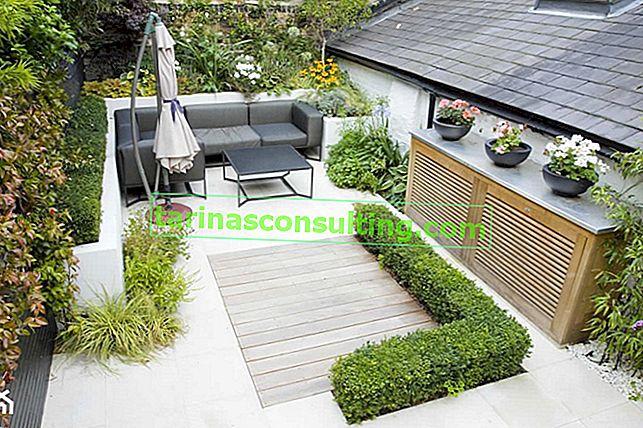 Come progettare in modo funzionale un piccolo giardino sul retro? Suggerimenti e tante foto