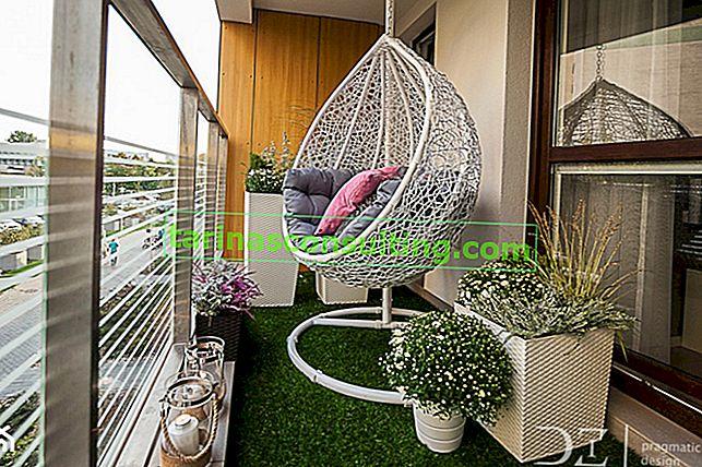 Umetna trava za balkon - vse o zeleni preprogi za balkon in teraso