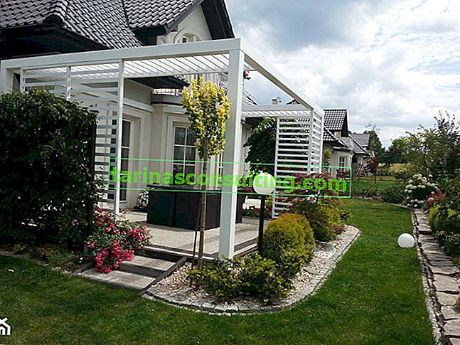 Kocka terasa: kako zgraditi tlakovano teraso?