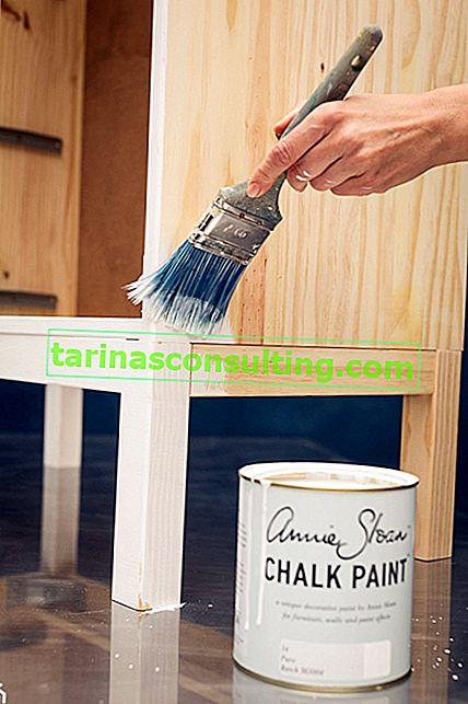 Möbelfarbe - welche wählen? Womit sollen die Möbel gestrichen werden?