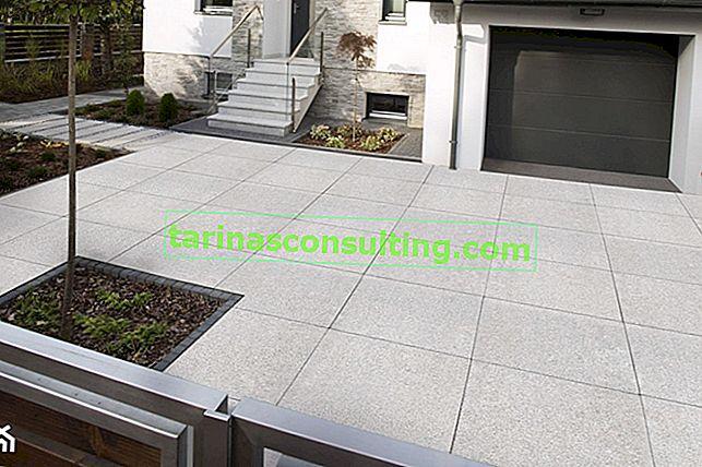 Passo carraio, marciapiedi e terrazzo, ovvero la superficie intorno alla casa per anni - è possibile?