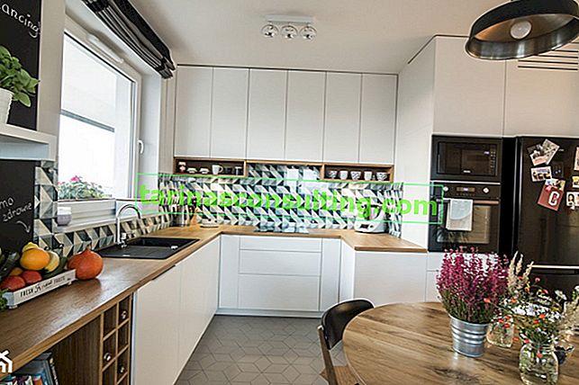 Sfondi per la cucina - quale funzionerà meglio? Suggerimenti e ispirazione