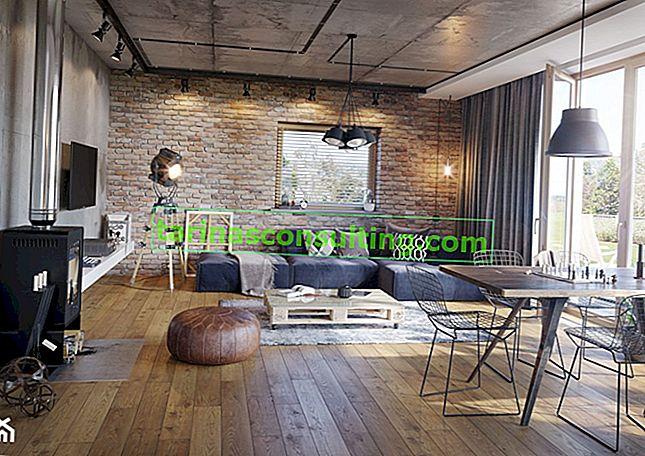Backstein - eine zeitlose Dekoration Ihres Interieurs