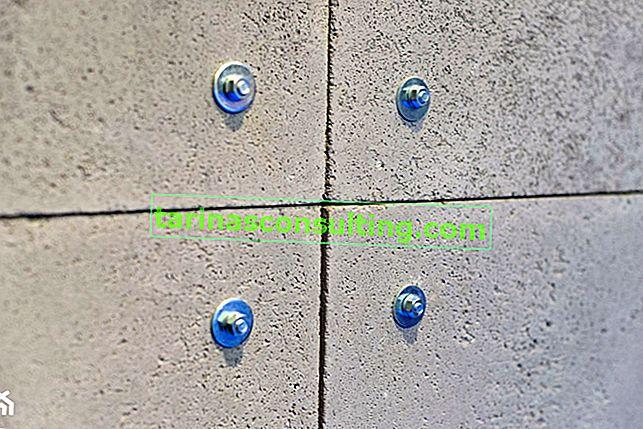 4 modi di cemento architettonico sul muro