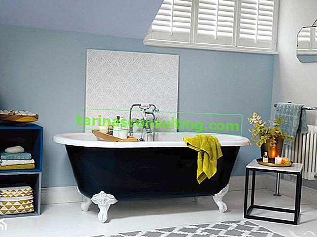 Badezimmer - eine Farbe, die schützt. EasyCare Küche und Bad