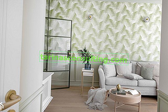 Tapete mit Blättern - 7 modischste Muster
