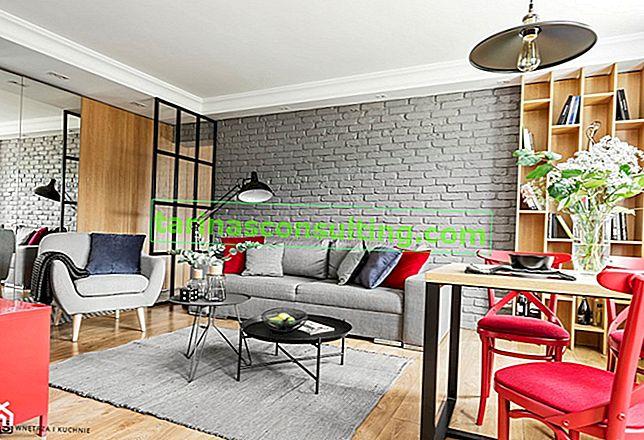 E il muro del soggiorno? 15 idee per la finitura delle pareti del soggiorno