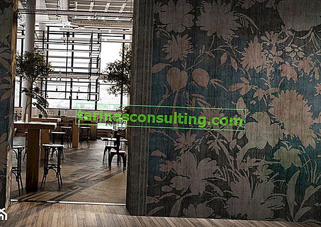 Großformatige Wandgrafiken, d. H. Schöne Wanddekorationen in jedem Innenraum