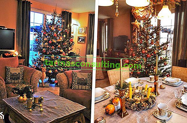 Weihnachtsmittelstücke - 11 Ideen für handgemachte Weihnachtsdekorationen