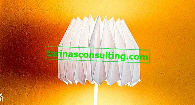 Come realizzare una lampada origami?