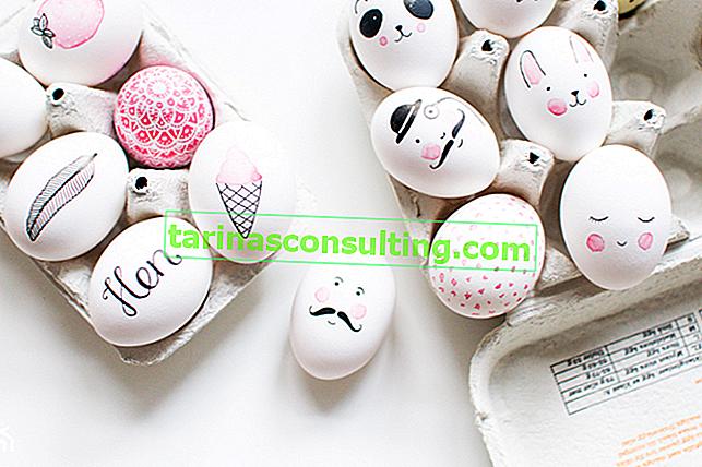 Come dipingere le uova di Pasqua? 6 modi