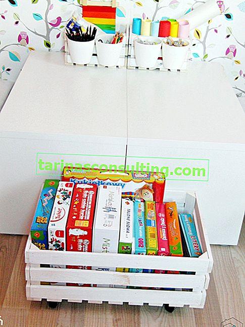 Come realizzare una cassa dei giocattoli per la stanza di un bambino?