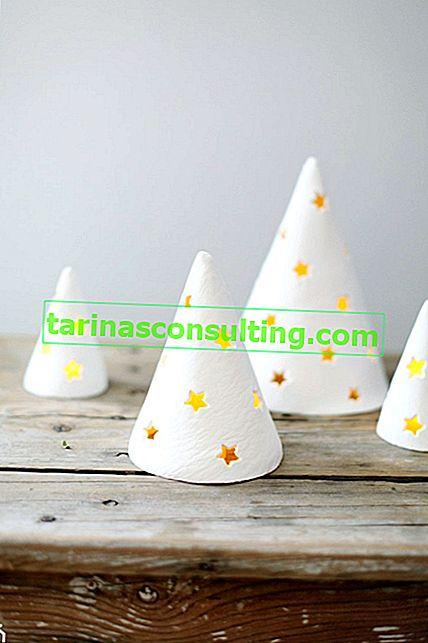 Come realizzare un candeliere per albero di Natale?