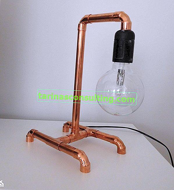 Comment faire une lampe loft?