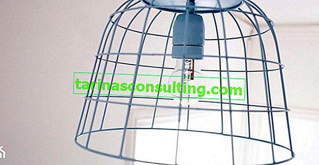 Come realizzare una lampada a sospensione in stile industriale?