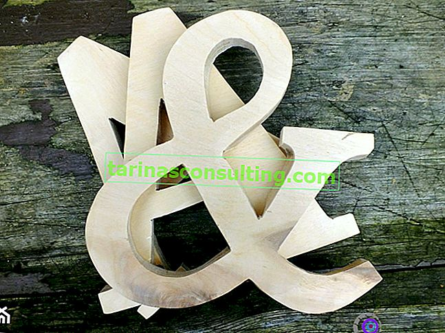 Comment faire des lettres en bois?