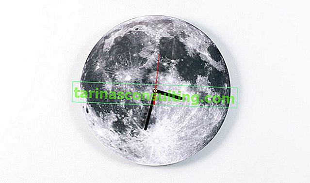Come realizzare un orologio lunare?
