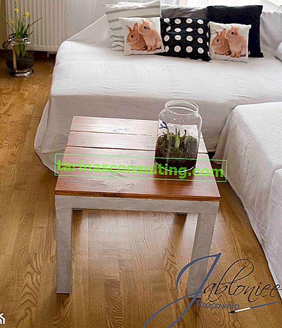 Comment faire une table en béton?