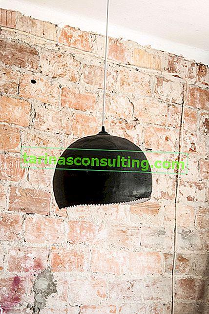 Fai da te: come realizzare una lampada in gesso?