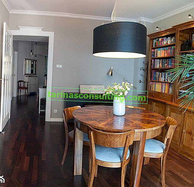 Come rinnovare la tavola? Ristrutturazione graduale di un tavolo in legno
