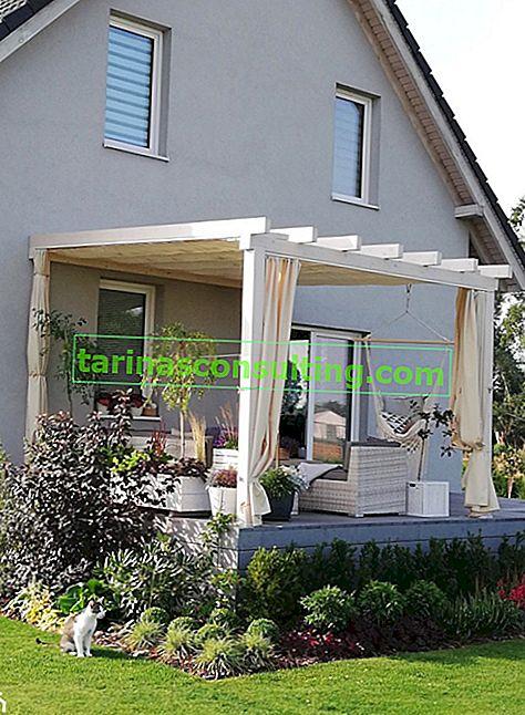 Comment faire une terrasse en bois sur poteaux? Construire une terrasse sur des poteaux étape par étape