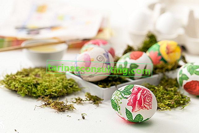 Come preparare le uova per il decoupage? Passo dopo passo decoupage le uova di Pasqua