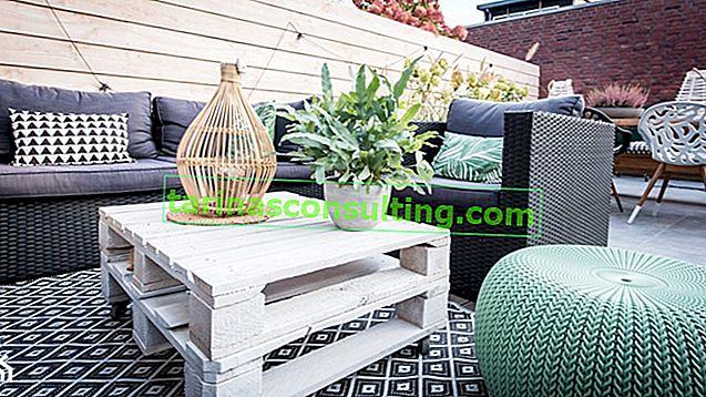 Come realizzare mobili da giardino con i pallet? Istruzioni passo passo