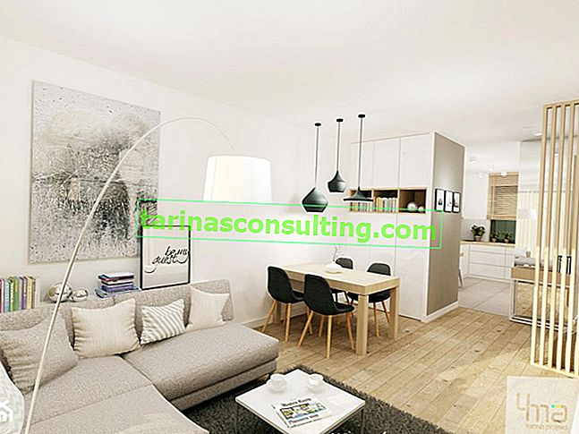 Come organizzare un appartamento lungo e stretto?